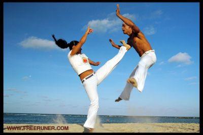 ورزش زیبای كاپویرا